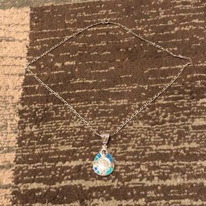 Mexican Turquoise and Silver Necklace